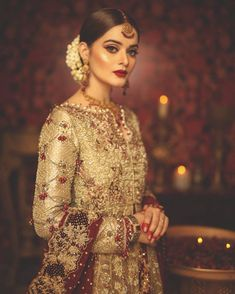 Minal Khan looking every bit regal in this stunning outfit. Hair and makeup by Picture by Wedding Day Wedding Planner Your Big Day Weddings Wedding Dresses Wedding bells Pakistani Bridal Makeup, Pakistani Wedding Outfits, Pakistani Couture, Bridal Lehenga, Pakistani Dresses, Indian Dresses, Indian Outfits, Bollywood, Anarkali