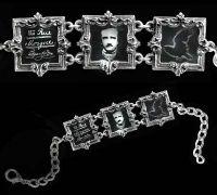 Edgar Allan Poe Bracelet