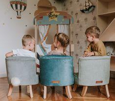 Kresielka pre deti v našej ponuke sú ideálne do detskej izby. Sú vyrobené z kvalitného materiálu, sú dostatočne pevné a nemajú ostré hrany či rohy, na ktorých by si deti mohli ublížiť. Sú mäkučké, veľmi pohodlné a deti si ich hneď zamilujú. Na výber sú z krásnych farieb, z ktorých si určite vyberiete a doplníte nimi interiér vašej detskej izby. Baby Room, Kids Room, Furniture, Home Decor, Room Kids, Decoration Home, Room Decor, Child Room, Kid Rooms