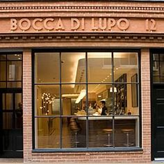 Bocca di Lupo - Italian in Soho excellent food