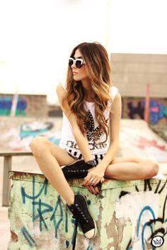 Look Du Jour: Adidas |  #Tank #White #Black