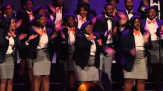 Inspiration for the end of Bless the Lord  VERIZON'S HOW SWEET THE SOUND 2012 - THE VIRGINIA STATE UNIVERSITY GOSPE...