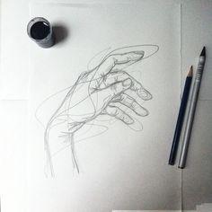 #sketch #hand   Tumblr