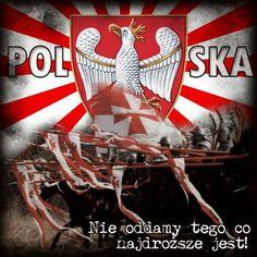Nie oddamy tego co najdroższe jest! Polish Symbols, Poland Facts, Poland Culture, My Heritage, Decoupage, Fun Facts, Wings, Christmas Ornaments, Holiday Decor
