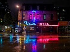 Named the Colonial Hotel when it opened in 1889, what's now known as the Yale was originally built to house Canadian Pacific Railway workers who moved to the city for work in the 1880s.