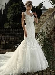 Bridesfamily Charming Tulle Sweetheart Mermaid Wedding Dress With Lace Appliques & Handmade Flowers Spring Wedding Colors, Wedding Dress Styles, Beaded Lace, Handmade Flowers, Lace Applique, Fashion Dresses, Tulle, Gowns, Guilty Pleasure