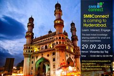 SMBConnect is coming to Hyderabad. Learn Interact Engage