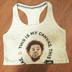 A limited edition J. Cole inspired crop top from last summer / www.originallyyoung.com / OriginallyYoung