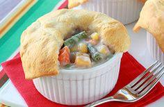 Meatless Recipes You'll Love: Mini Veggie Pot Pies