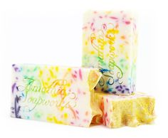 Full Spectrum Rainbow Shea Butter Soap - Handcrafted Cold Process Vegan Friendly