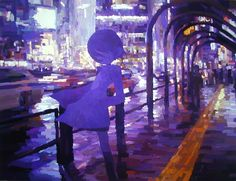 Shintaro Ohata, ''One Road,'' 2008,  acrylic on canvas