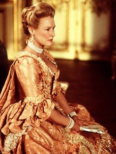 Glenn Close in Dangerous Liaisons Costume Fashion Gown Historical