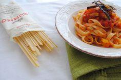FETTUCCE CON RAGù DI VERDURE  http://chebloginpentola.altervista.org/fettucce-ragu-verdure/