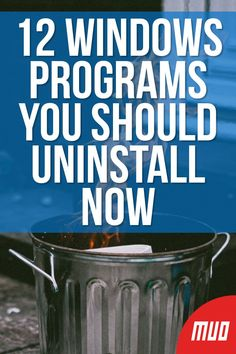 12 Unnecessary Windows Programs and Apps You Should Uninstall - - Wondering which Windows 10 apps to uninstall? Here are several unnecessary Windows 10 apps and programs you should remove. Life Hacks Computer, Computer Diy, Computer Projects, Computer Basics, Computer Internet, Computer Security, Computer Hacking, Technology Hacks, Computer Technology