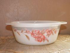 SALE Vintage PyrexStyle Porcelain Bowl WAS by DesertBlossomVintage, $3.00