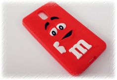 My red m&m phone rubber case...