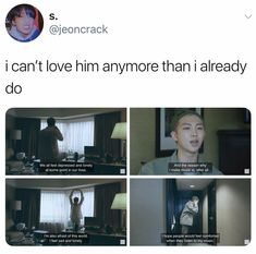 another reason I love joonie so much is bc I relate so so bad to him. BUT even tho he's sad and maybe lonely at times, he still finds time to think about everyone else who might be in a similar situation as he is mentally. He thinks about how to help them (w his lyrics & music, etc) basing on how he would love to be treated wo really asking much in return or expecting to be treated the same way. He just really wants to help n I think that's one of the biggest reasons why he is such an…