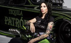 Alexis DeJoria, pinup girl and lover of NITROMETH