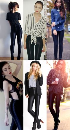 faux leather leggings. must have asap