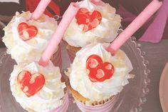 Pink + Red Love Themed Bridal Shower via Kara's Party Ideas KarasPartyIdeas.com #bridalshowerideas #loveparty #redandpinkparty #vday #valentinesparty (8)