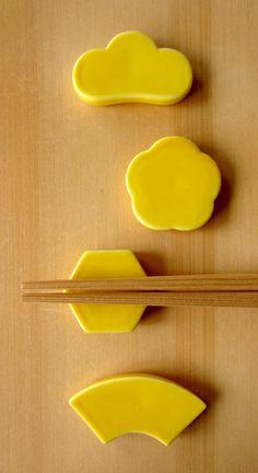 ドーの箸置き 黄