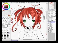 How to color anime hair