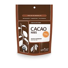 Navitas Naturals Organic Raw Cacao Nibs 4 Ounce -- For more information, visit image link. (Note:Amazon affiliate link)