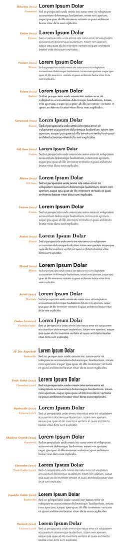 Fonts to combine