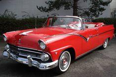 1955 ford   1955 FORD FAIRLANE Lot 67   Barrett-Jackson Auction Company