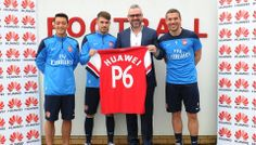 Arsenal Sign with New Mobile Phone Partners Huawei.