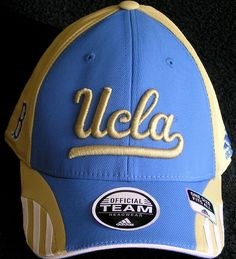 UCLA BRUINS EMBROIDERED FLEX FIT CAP BY ADIDAS NEW WITH TAGS FREE SHIPPING #UCLA