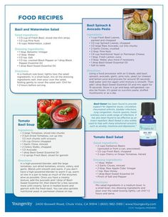 Our June 2016 Aroma Share Club Essential Oils includes Basil, Sweet. We have included 4 great recipes for you, including: 1. Basil & Watermelon Salad 2. Basil Spinach & Avocado Pesto 3. Tomato Basil Soup 4. Tomato Basil Salad  Enjoy the recipes!! Please share these recipes with others and post pictures of your completed recipe :-)   Christine xx