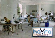 El taller en Julio 2008