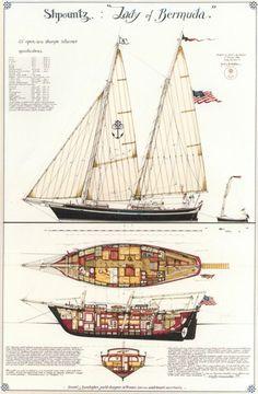 Quinze marins sur le bahut du mort...: lady-of-bermuda