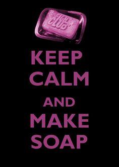 ...make soap