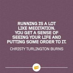 Running is a lot like meditation