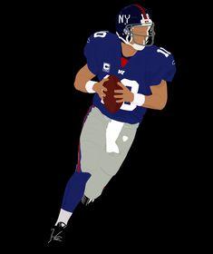 New York Giants Football, Football Art, Shirt Print, Tee Shirt, Sports Drawings, Football Design, Nfl Jerseys, Graffiti Art, Rugby