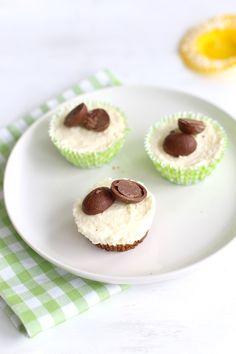Mini paas-cheesecakes