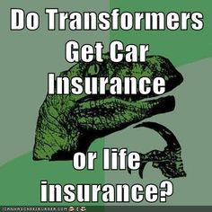 Technically, I would say car insurance--but the lives they live are so dangerous I doubt even Flo or the lizard would cover them.
