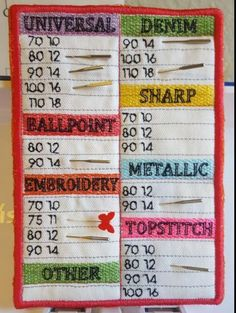 (10) Name: 'Embroidery : Needle Organizer in a hoop PES file