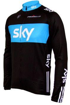 Team Sky Jersey 2010 - Long Sleeve