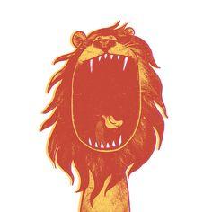 Lion Art Print - Factory 43