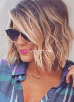 bayan kısa saç