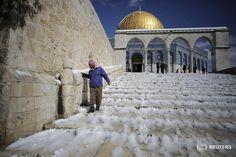 PHOTOS: A rare snowstorm blankets the Middle East. http://reut.rs/1Lkt8qp