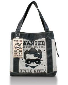 Women's Hello Kitty Bandit Tote $65.00