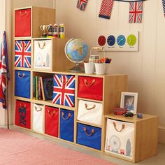 Shop children's storage furniture with free returns! Choose from a range of toy storage ideas, including cube storage, toy boxes, bookcases and more. Cube Storage Unit, Playroom Storage, Modular Storage, Kids Storage, Bedroom Storage, Playroom Ideas, Great Little Trading, Cute Bedding, English Decor