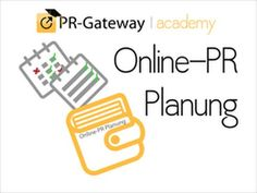 Überzeugen Sie mit einer starken Online-PR Ihre Zielgruppe und sichern Sie sich die Pole Position bei Google: http://pr-gateway-academy.de/online-pr-planung/ #PR #Jahresplanung