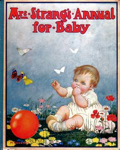 Mrs. Strangs Annual for Baby front cover by M. Sowerby | Flickr - Photo Sharing!