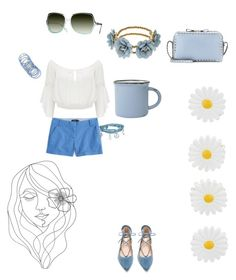"""""""Hippy blues"""" by pinkladyz on Polyvore featuring Forever New, J.Crew, Steve Madden, Bling Jewelry, canvas, Valentino, Monsoon and PBteen"""