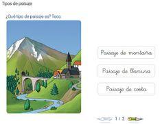 Ciudad de Begastri 1er ciclo: Los paisajes II. Tipos de paisajes.